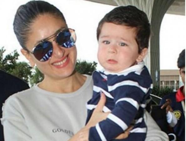 Kareena Kapoor Khan with son Taimur