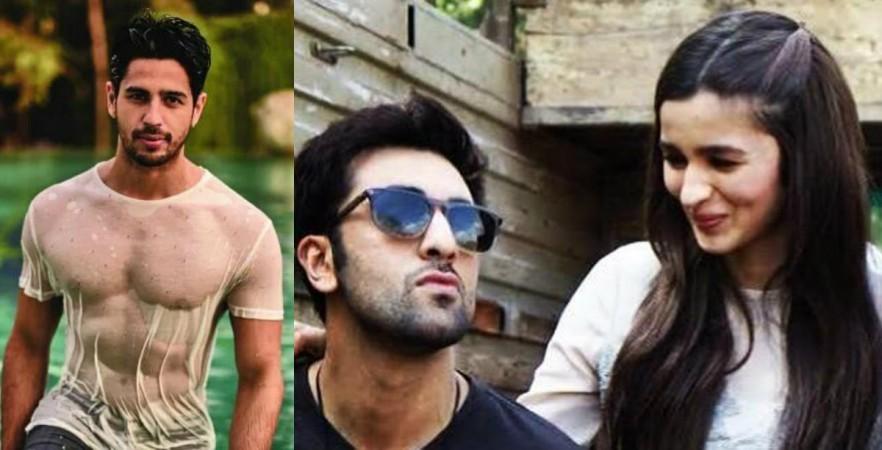 Sidharth Malhotra, Ranbir Kapoor, Alia Bhatt