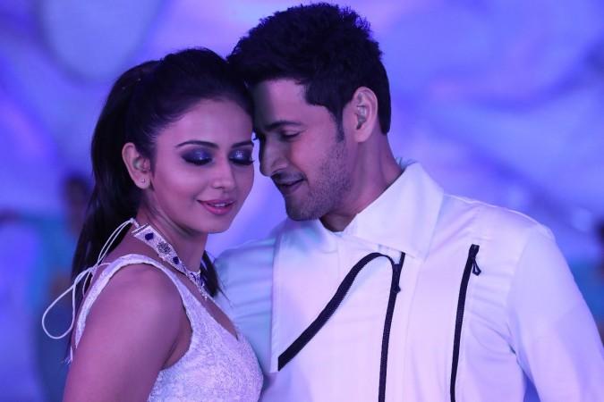 Mahesh Babu and Rakul Preet Singh in Spyder