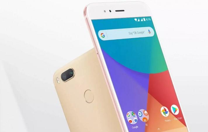Xiaomi Mi A1 as seen on Mi website