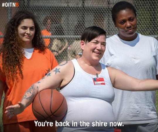 Big Boo Carrie from Orange Is The New Black