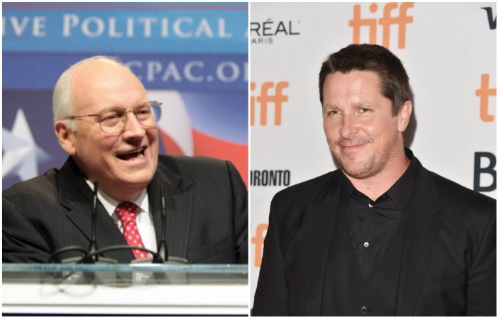 Is Christian Bale looking quite akin to former US Vice President Dick Cheney?