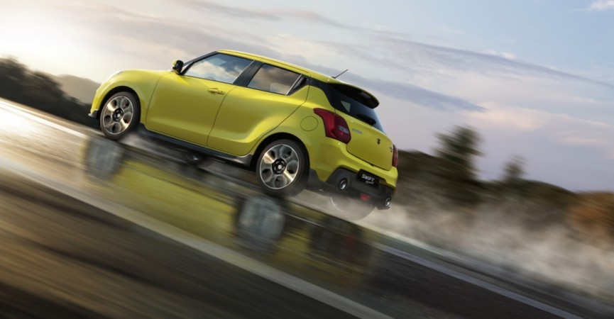New Suzuki Swift Sport, New Suzuki Swift Sport images