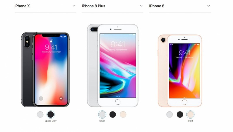 Apple iPhone X, iPhone 8, iPhone 8 Plus, specifications, price, availability details