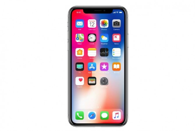 iPhone X OLED screen