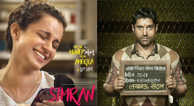 Simran, Lucknow Central posters