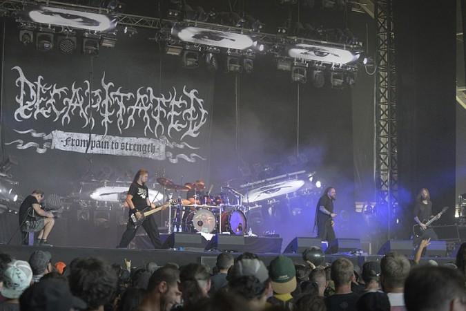Polish band Decapitated