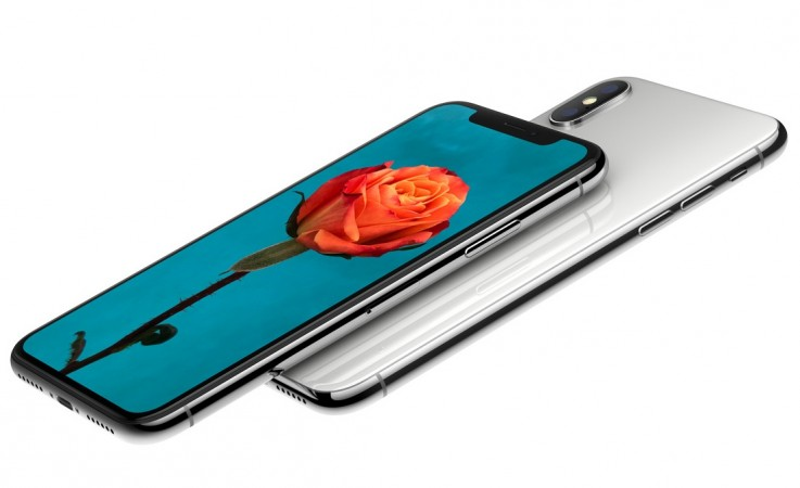 Apple's iPhone X as seen on its official website