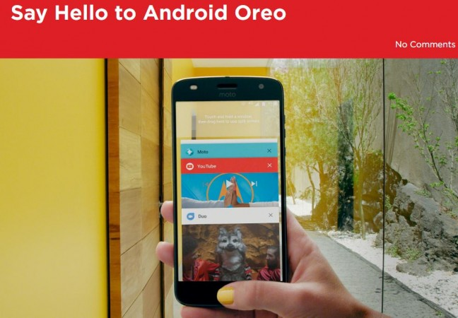 Motorola Android Oreo update list, Moto G4, Moto E4 Plus, features, release date