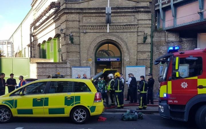 London train blast