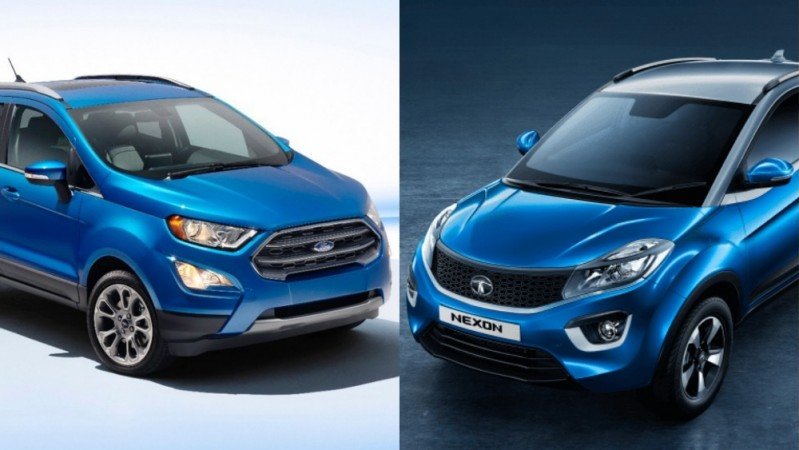 Tata Nexon and 2017 Ford EcoSport facelift to give stiff ...