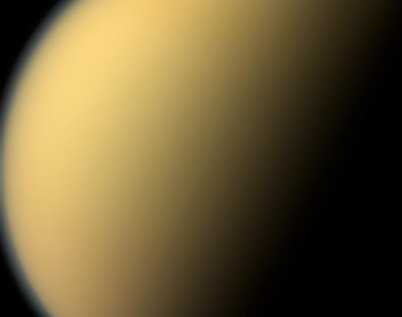 Cassini last images Titan