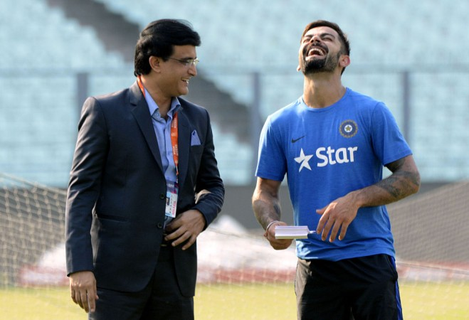 Sourav Ganguly, Virat Kohli, India cricket