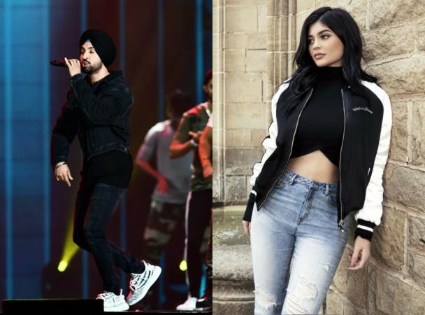 Kylie Jenner Diljit Dosanjh