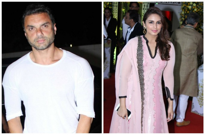 Sohail Khan and Huma Qureshi