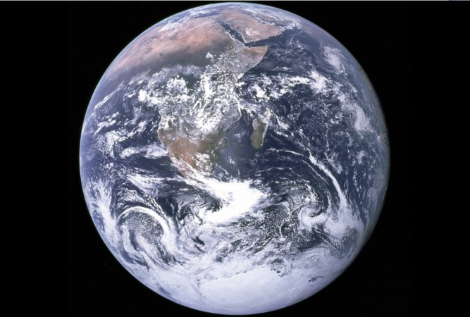 Picture of the Earth taken by NASA