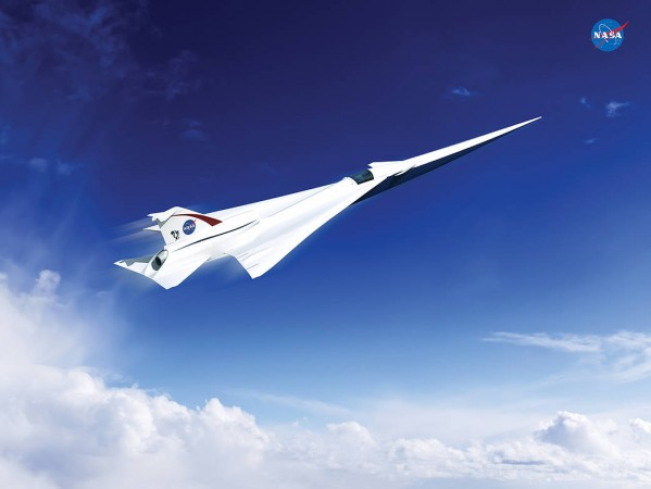 NASA, Plane-X, Supersonic jet,