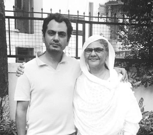 Nawazuddin Siddiqui mom
