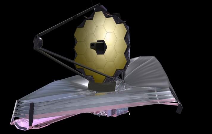 James Webb Space Telescope as seen on NASA website