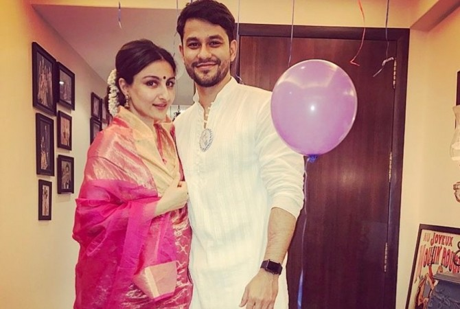 Soha Ali Khan with Kunal Kemmu