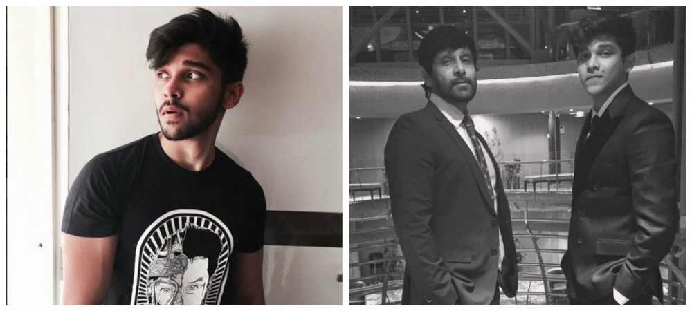Vikrams son Dhruv getting ready to enter into Kollywood
