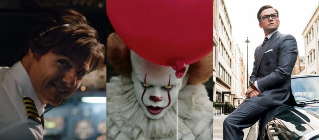 It, American Made, Kingsman 2, box office
