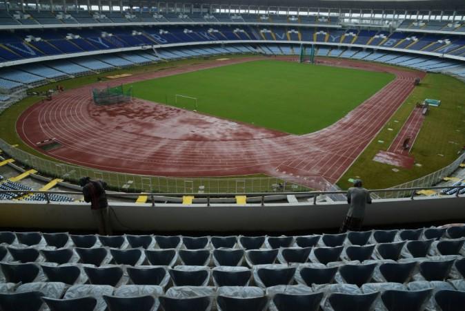 Salt Lake Stadium, Kolkata.