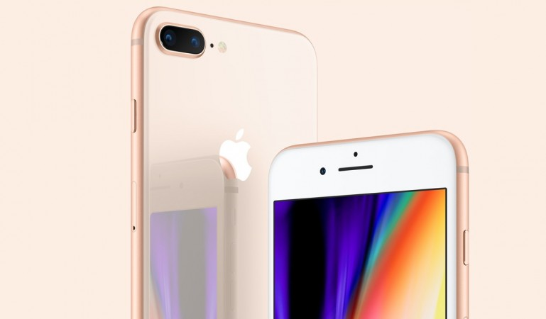 Apple's iPhone 8 Plus as seen on the company's official website