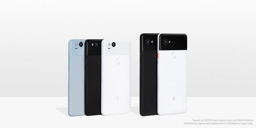 Google Pixel 2, Pixel 2 XL
