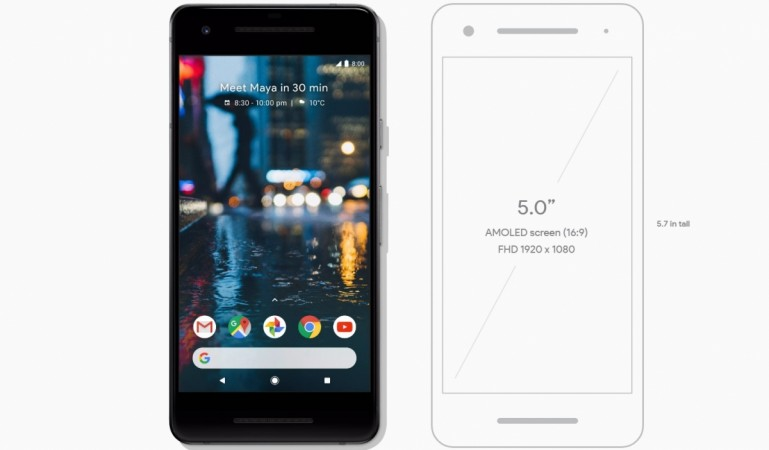 Google Pixel 2 as seen on Play Store
