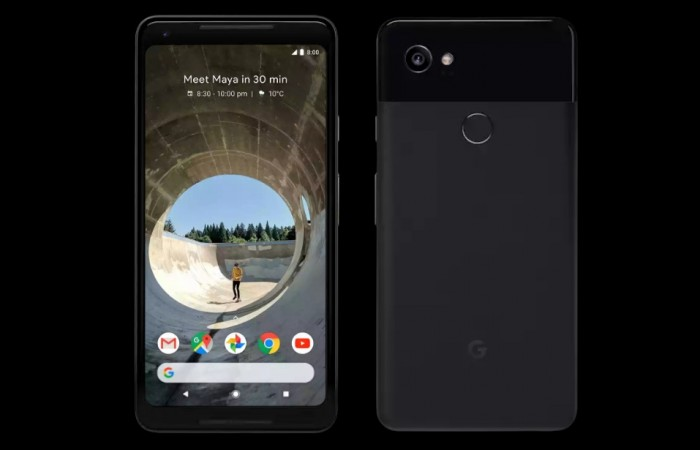 Google Pixel 2 XL as seen on Play Store