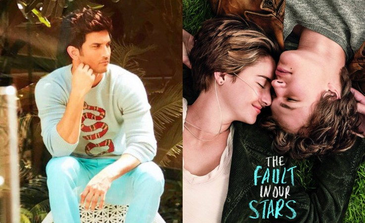 Sushant Singh Rajput in the Hindi remake of The Fault In Our Stars