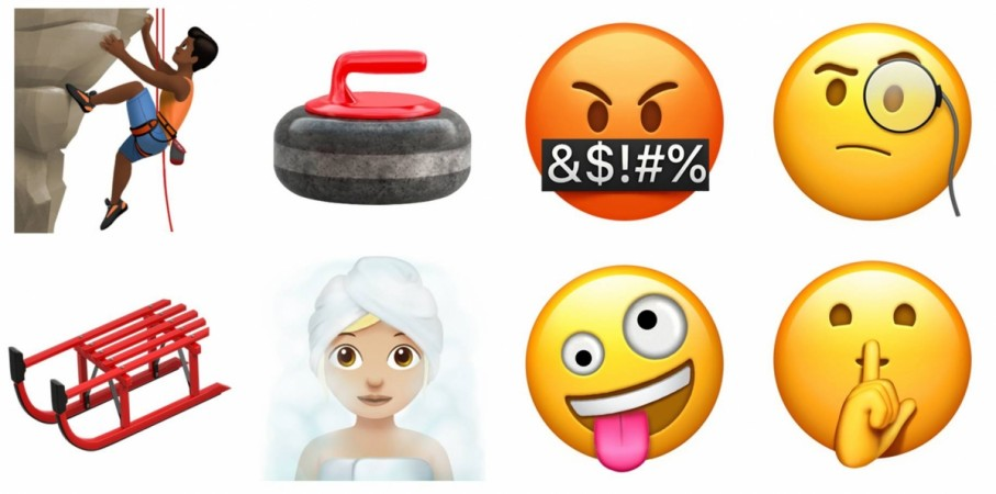 Apple new emojis
