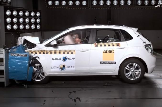 2018 Volkswagen Polo crash test