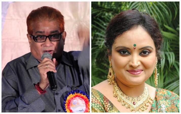 Actor MVS Haranatharao and anchor Mallika