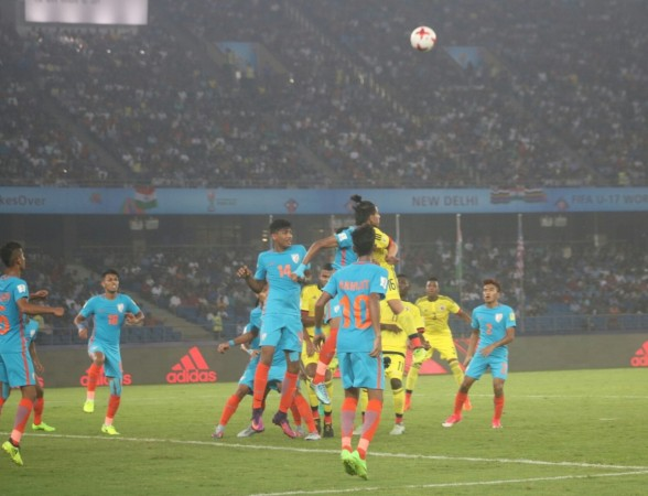 India vs Colombia, U-17 World Cup