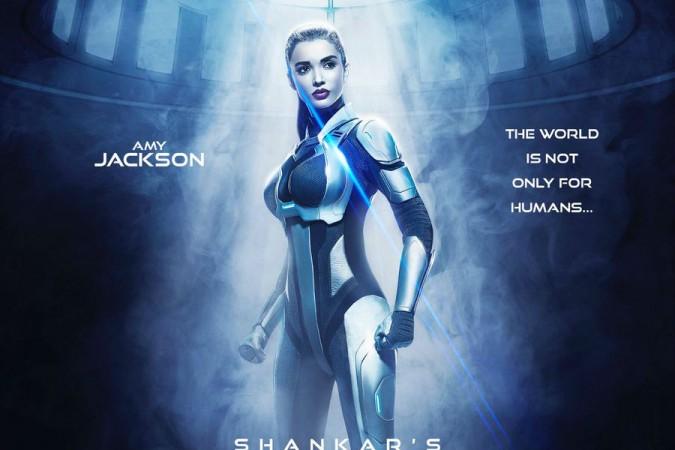 Shankar Unveils Amy Jackson's First Look From Rajinikanth