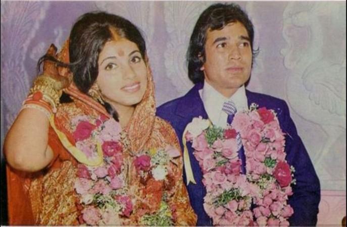 Dimple Kapadia and Rajesh Khanna