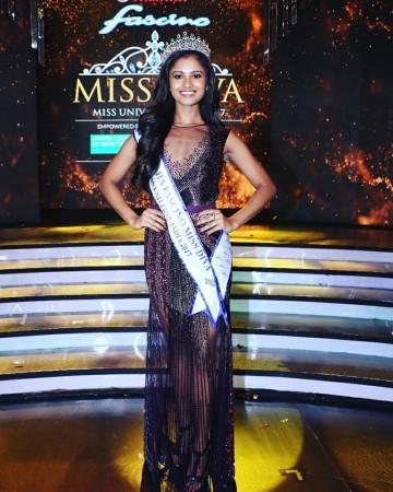 Miss Diva 2017 Shraddha Shashidhar