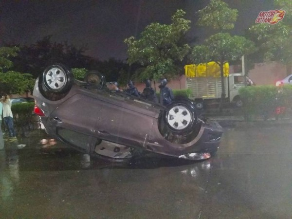 Tata Tiago, Tiago accident