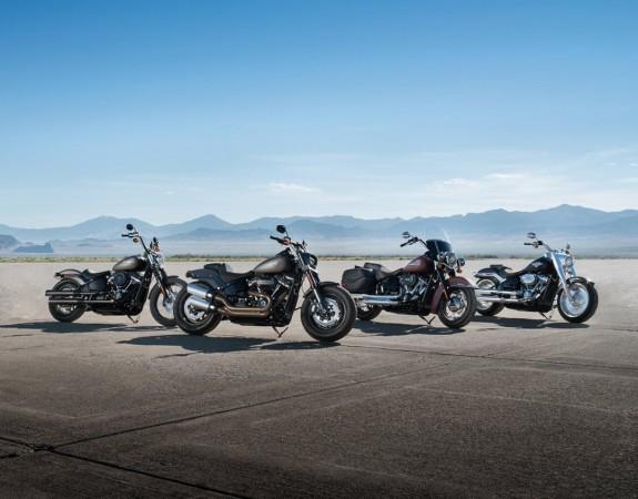 2018 Harley-Davidson Softail bikes
