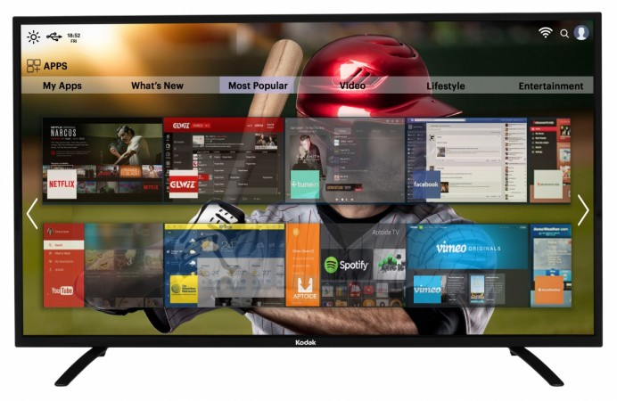 Kodak 55-inch 4K UHD Smart TV