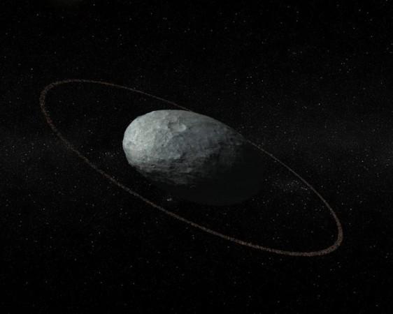 Haumea, dwarf planet, rings,