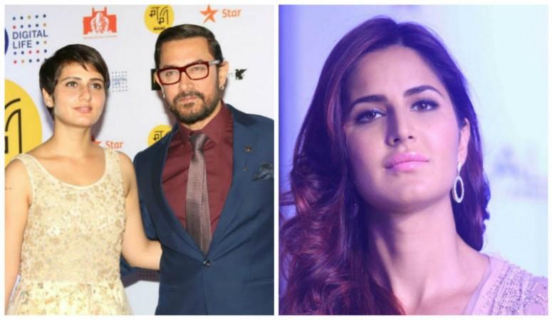 Aamir Khan, Fatima Sana Shaikh and Katrina Kaif