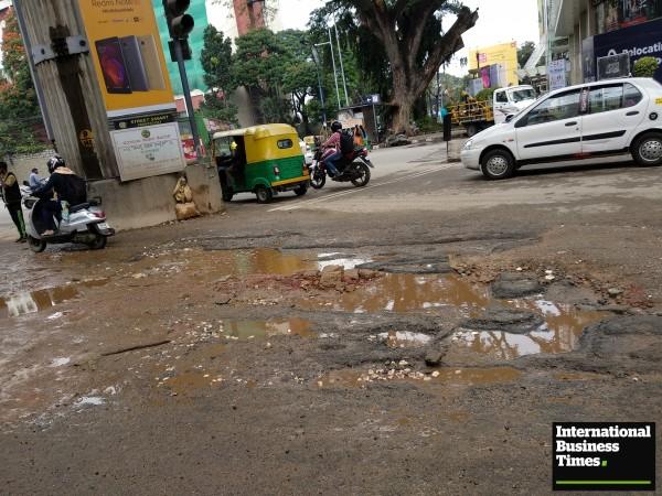 Potholes, Bangalore potholes