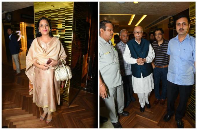 BJP leader LK Advani at Secret Superstar special screening
