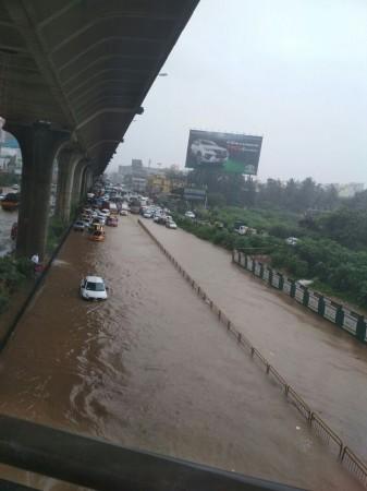 Flooded Bangalore