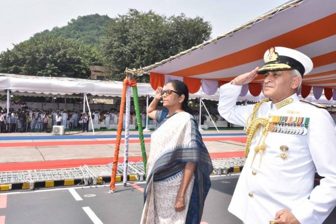 Defence minister Nirmala Sitharaman