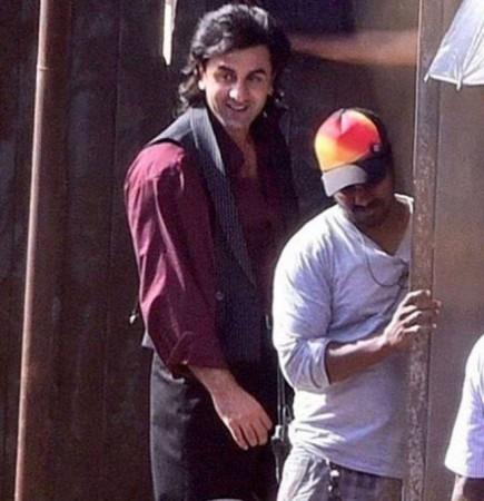 Ranbir Kapoor Sanjay Dutt look