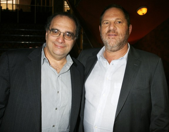 Bob Weinstein and Harvey Weinstein